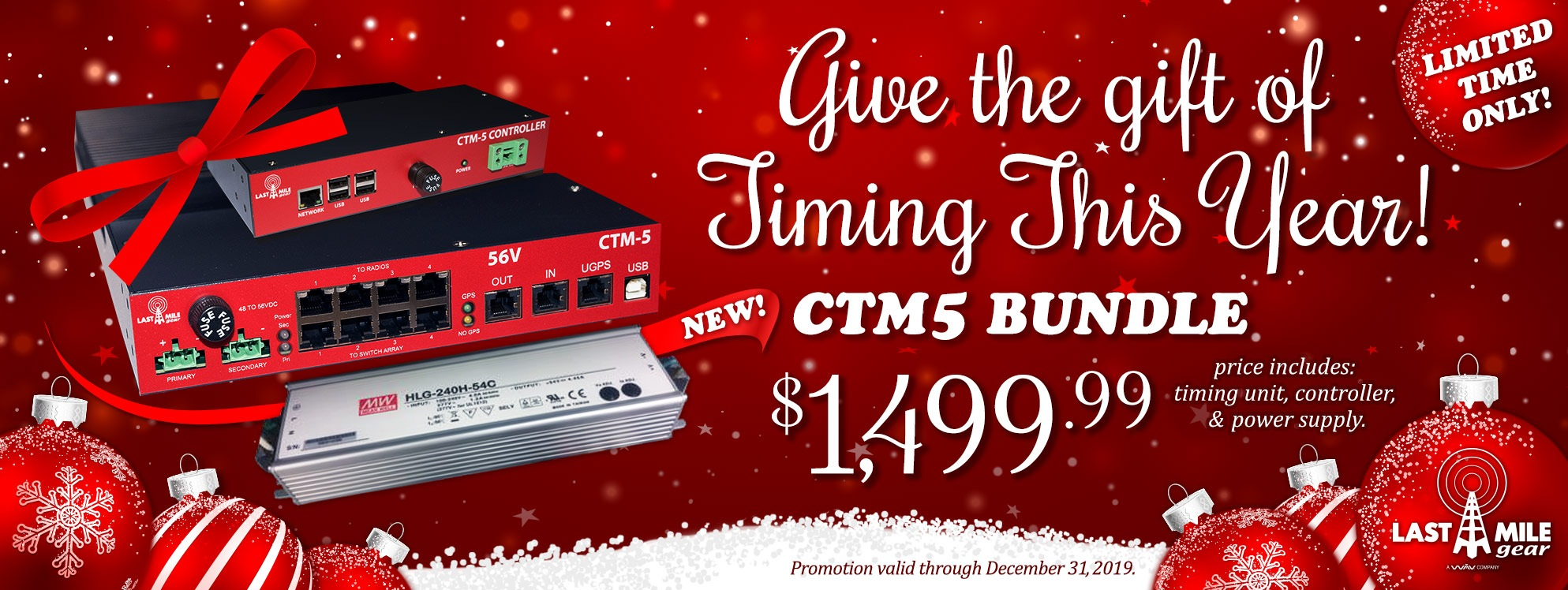 Last Mile Gear CTM5 Bundle Sale