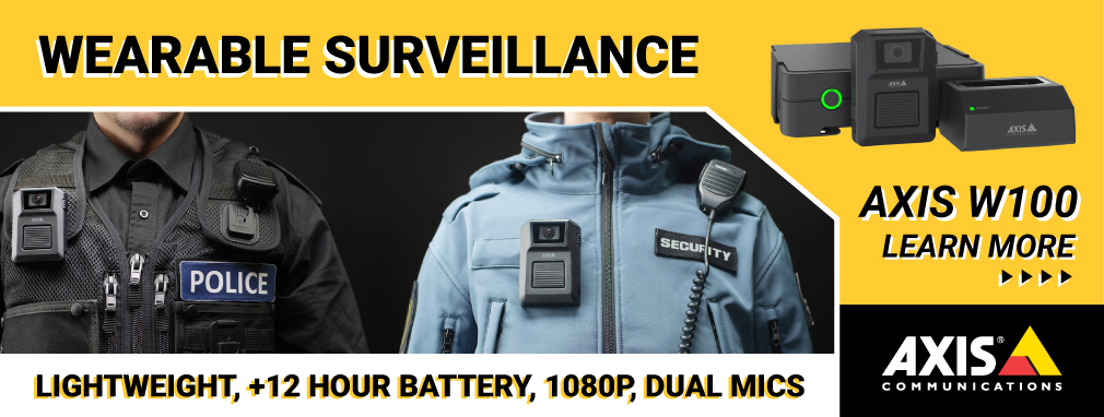 Axis Communications Body Worn Camera Solutions