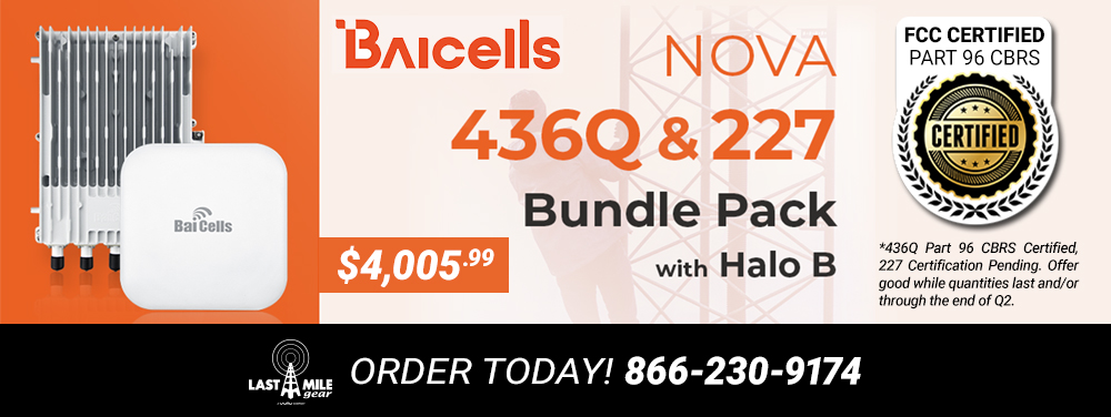 Baicells Nova 436 & 277 Bundle Pack with Halo B