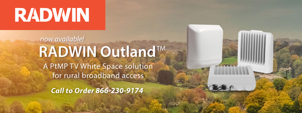 Radwin Outland TV White Space Solution